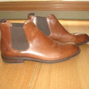 Mens Frye Brown Jones Chelsea Boots Size 9.5